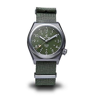 BOLDR Venture Jungle Green Automatic Wristwatch