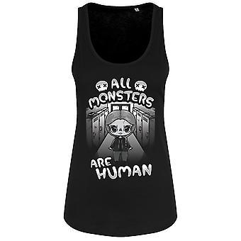 Mio Moon Womens/Ladies All Monsters Are Human Tank Top