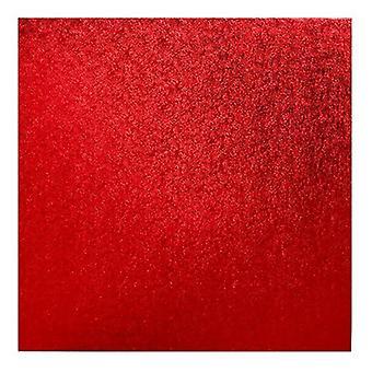 "14"" (355mm) Cake Board Square Red - single"
