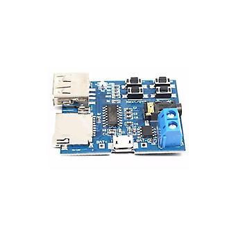 Mp3 Nondestructive  Built-in Amplifier Decoder Tf Card U Disk Decoding Player