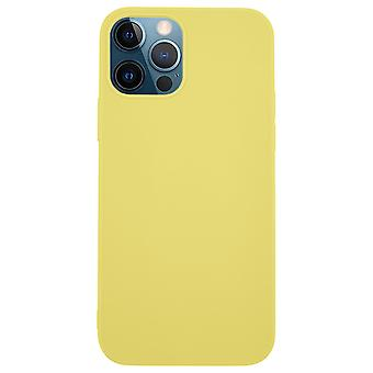 Ultra-Slim Case compatible with iPhone 12 Pro Max   In Yellow  
