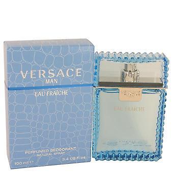 Versace Mann Eau Fraiche Deodorant Spray von Versace 3,4 oz Eau Fraiche Deodorant Spray