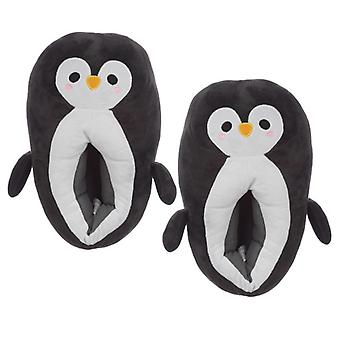 Cute penguin unisex one size pair of  slippers