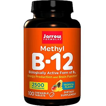 Jarrow Formler Metyl B12 2500mcg Sugtabletter 100