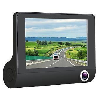 Negro 130 grados HD1280 visión nocturna coche DVR cámara grabadora Dash Cam X3