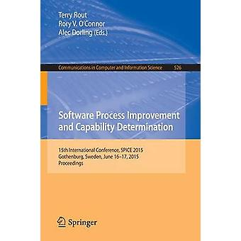 Software Process Improvement and Capability Determination - 15th Inter