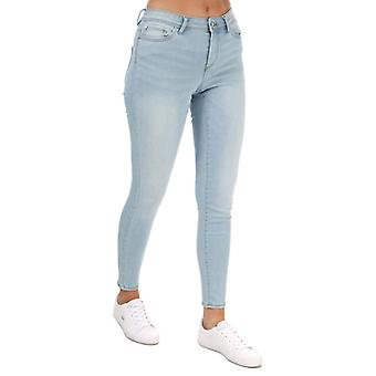 Women's Only Wauw Life Skinny Jeans in Blauw