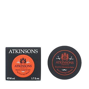 Atkinsons The Grooming Collection Beard & Moustache Salve 50ml NEW. Men's