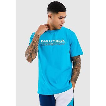 Nautica Competition Vang T-Shirt - Blå