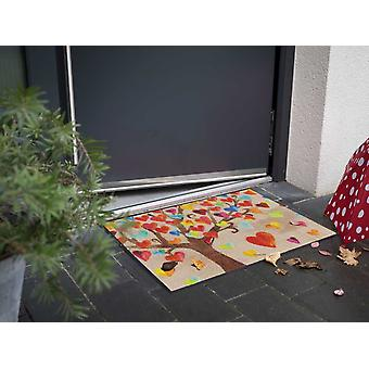 Salonloewe Tapis de pied Tree of Love 50 x 75 cm lavable