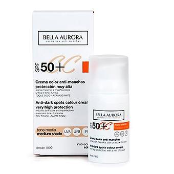 CREAM Color CC Anti-Stains Very High Protection SPF 50+, Medium Tone - 30 ml