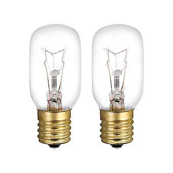 2PCS 6912W1Z004B E17 Remplacement de l'ampoule pour four à micro-ondes 120V 40W