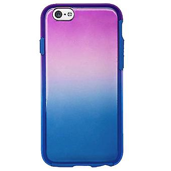 Verizon Tie Dye Case pour Apple iPhone 6/6 s-bleu/violet
