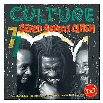 Kultur - syv syvere Clash [Vinyl] USA importerer