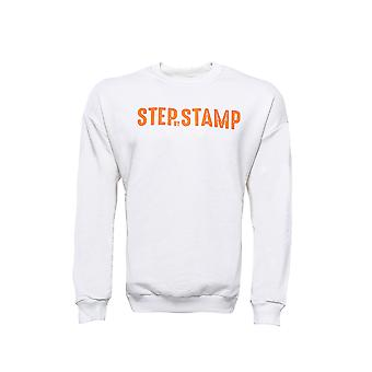 White letter printed sweatshirt