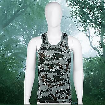 Fashion Military Style Men Vest Camouflage Tank Top Tight Sport Skinny