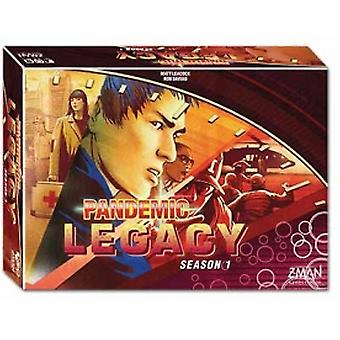 Pandemic Legacy Season 1 Red Edition Board Game