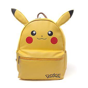 Pokemon - Pikachu With Ears Women's Shaped Backpack - Yellow