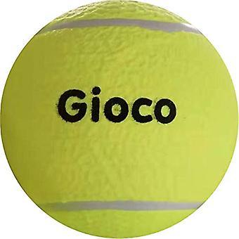 Gioco Unisex-Youth Giant Tennis Ball, Yellow