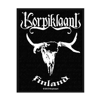 Korpiklaani - Finlandia Parche estándar