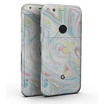 Marbleized Swirling Candy Colors - Full-body Skin Kit pentru Google