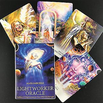 new 44pcs ts73 english version tarot angel therapy oracle tarot cards sm37520