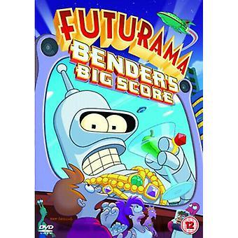 Futurama Benders Big Score DVD (2008) Dwayne Carey-Hill cert 12 Regio 2