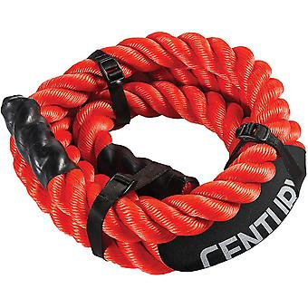 Century Challenge Workout Training Exercise Rope - Orange