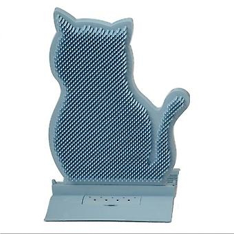New Fixed Door Seam Cat Rubbing Hair Removal Device Anti-itching Massage Brush Cat Rubbing Brush Toy