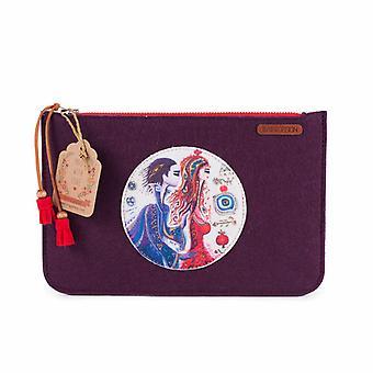 Biggdesign Kærlighed Filt Håndtaske