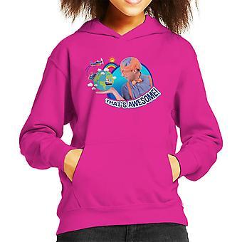 Blippi The World Thats Awesome Kid's Hooded Sweatshirt