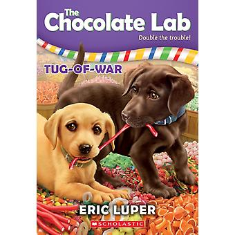 TugOfWar the Chocolate Lab 2 2 by Eric Luper