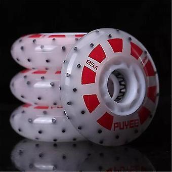 85a Fire Stone Led Flash Inline Skøjter Firestone Wheel Light Roller