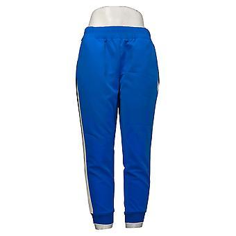 إيمان العالمية شيك المرأة الصغيرة السراويل الجانبية الشريط عداء بانت الأزرق 737043