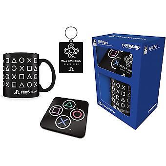 Playstation Mugg & Coaster Set
