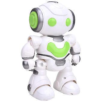 1/12 RC روبوت العلوم RC حيلة ذكية الحديث التفاعلي صوت مصغرة RC روبوت اللعب| RC روبوت (أخضر)