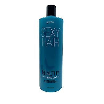 Sexy Hair Healthy Tri Wheat Leave In Conditioner 33.8 OZ