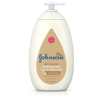 Johnson's Baby Body Lotion with Vanilla & Oat Extract, 27.1 fl. oz