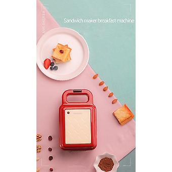 Sandwich Maker Elektrisk Våffel Maker Frukost Våffelmaskin Multifunktion Non Stick Bröd