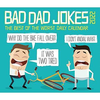 Bad Dad Jokes 2022 Box Calendar  Daily Humor Desktop by Willow Creek Press