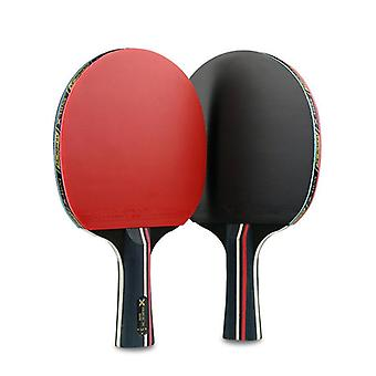 1 סט/2PCS מקצועי שלושה כוכבים טניס שולחן מחבטים (ארוך)