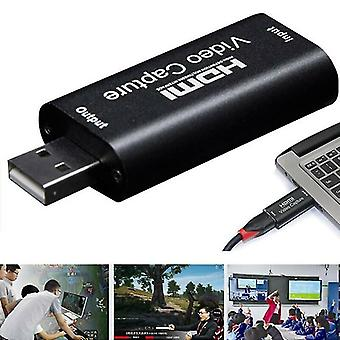 Digital video recorders hdmi to usb 2.0 Video capture card 1080p hd recorder game/video live streaming