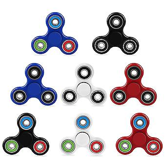 Kids Adults Hand Spinner Sensory Tri  Focus Finger Toy For Adhd Autism