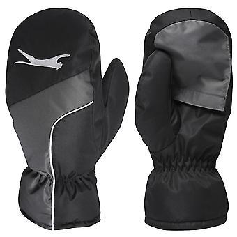 Slazenger Womens Winter Gloves Golf Pattern Silicone Brushed