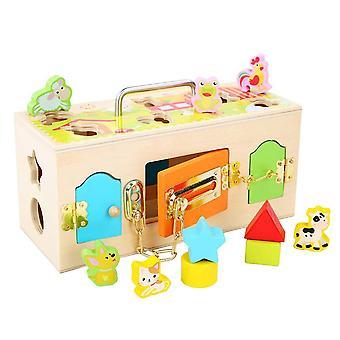 Puzzle pour enfants Game Box Fun Animal Enfants Cadeau
