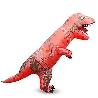 Big Red Tyrannosaurus Rex (gyermek változata) Halloween Cosplay Tyrannosaurus Rex felfújható jelmez dinoszaurusz jelmez