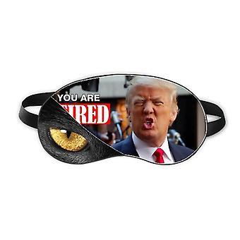 American President Interesting Great Image Eye Head Rest Dark Cosmetology Shade Cover