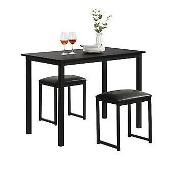 バーテーブルと2スツール