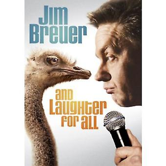 Jim Breuer - And Laughter for All [DVD] USA import