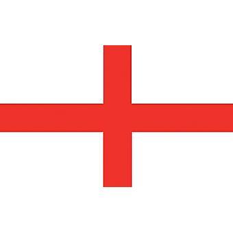 Store England St George Cross flagg